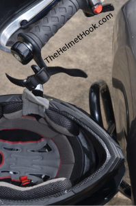 Helmet Hook With Ratchet Strap